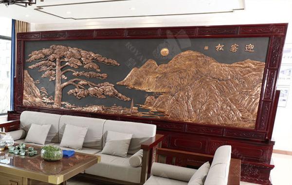 豪華銅壁畫 GJ-TBH03