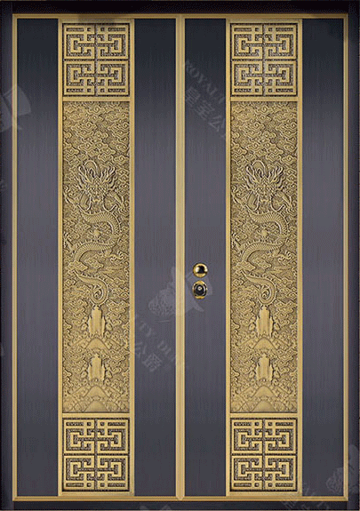 豪華家裝門 GJ-18010