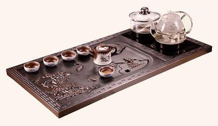 豪華銅茶盤 GJ-TCJ08