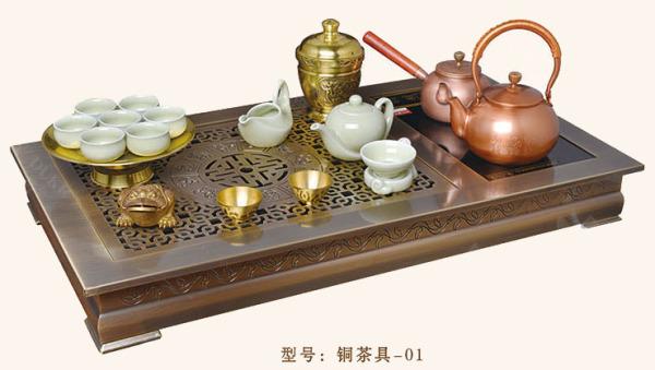 豪華銅茶盤 GJ-TCJ01