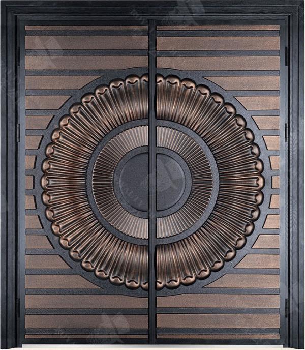 豪華鑄銅/鑄鋁門 GJ-18628