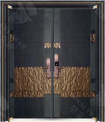豪華鑄銅/鑄鋁門 GJ-18635