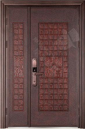 豪華鑄銅/鑄鋁門 GJ-18661