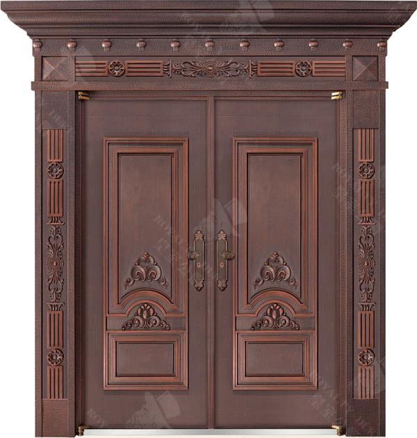 豪華鑄銅/鑄鋁門 GJ-18605