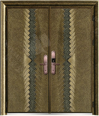 豪華鑄銅/鑄鋁門 GJ-18639