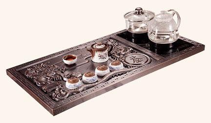 豪華銅茶盤 GJ-TCJ07