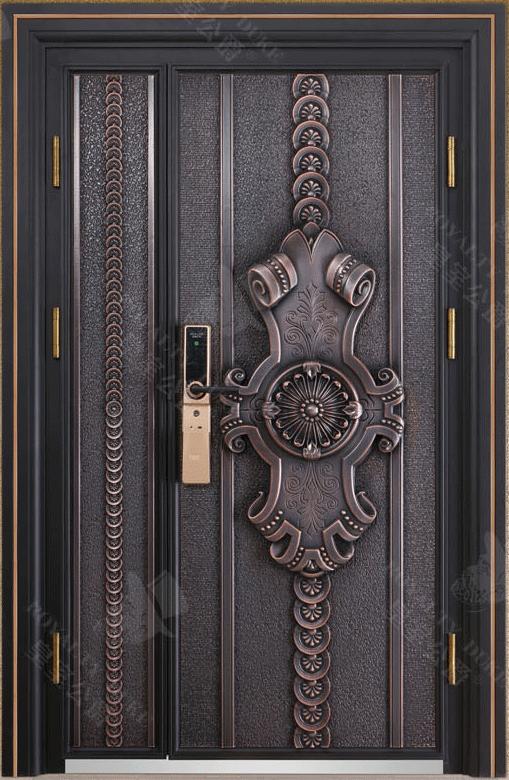 豪華鑄銅/鑄鋁門 GJ-18653