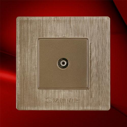 电视插座 F02-1TV