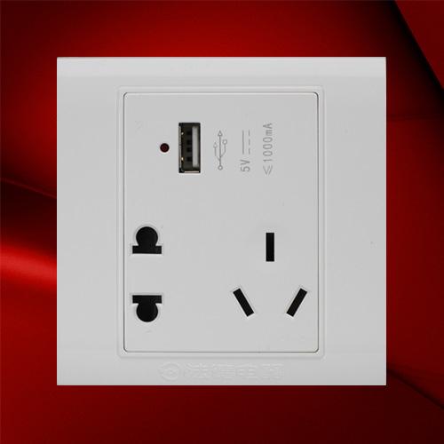 USB五孔 F01-US23C