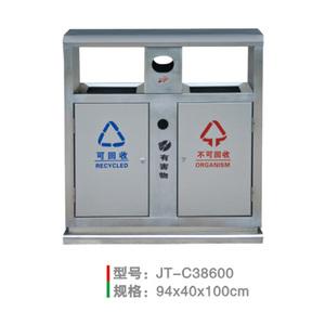 不銹鋼/鋼板噴塑垃圾桶系列 JT-C38600