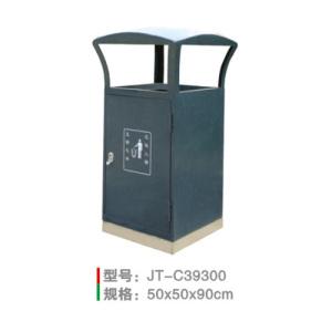 不銹鋼/鋼板噴塑垃圾桶系列 JT-C39300