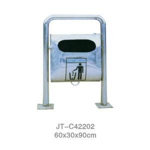 不銹鋼/鋼板噴塑垃圾桶系列 JT-C42202