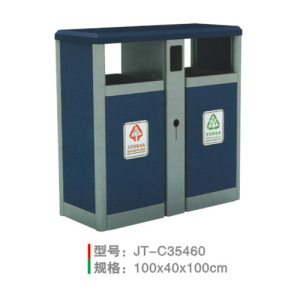 不銹鋼/鋼板噴塑垃圾桶系列 JT-C35460