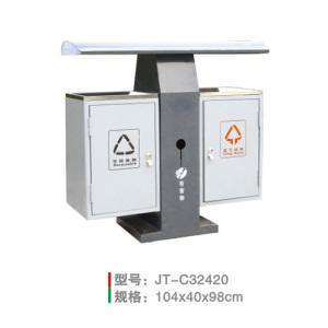 不銹鋼/鋼板噴塑垃圾桶系列 JT-C32420