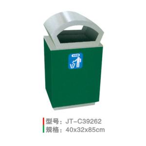 不銹鋼/鋼板噴塑垃圾桶系列 JT-C39262
