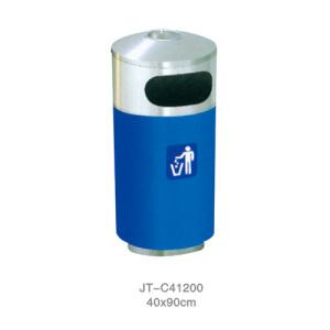 不銹鋼/鋼板噴塑垃圾桶系列 JT-C41200