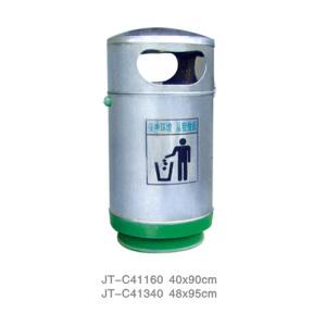 不銹鋼/鋼板噴塑垃圾桶系列 JT-C41160