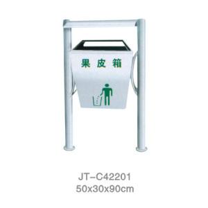 不銹鋼/鋼板噴塑垃圾桶系列 JT-C42201
