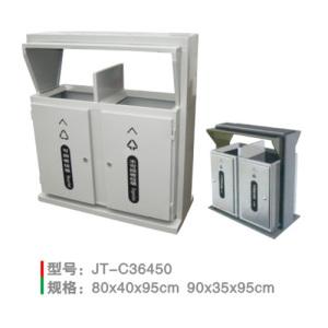 不銹鋼/鋼板噴塑垃圾桶系列 JT-C36450