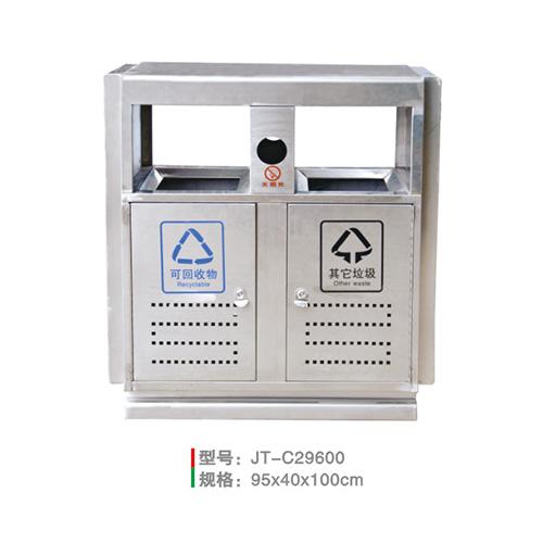 不銹鋼/鋼板噴塑垃圾桶系列 JT-C29600