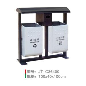 不銹鋼/鋼板噴塑垃圾桶系列 JT-C36400