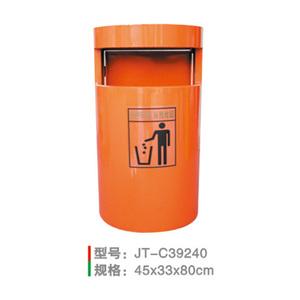 不銹鋼/鋼板噴塑垃圾桶系列 JT-C39240