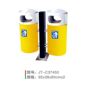 不銹鋼/鋼板噴塑垃圾桶系列 JT-C37450