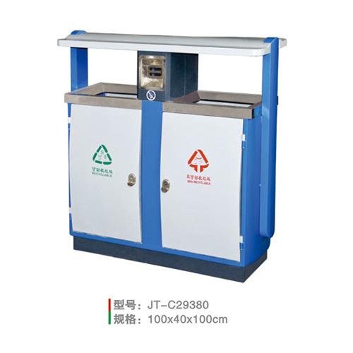 不銹鋼/鋼板噴塑垃圾桶系列 JT-C29380