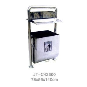 不銹鋼/鋼板噴塑垃圾桶系列 JT-C42300