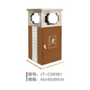 不銹鋼/鋼板噴塑垃圾桶系列 JT-C39381
