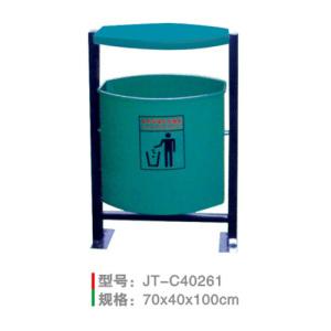 不銹鋼/鋼板噴塑垃圾桶系列 JT-C40261