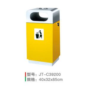 不銹鋼/鋼板噴塑垃圾桶系列 JT-C39200