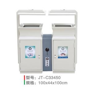 不銹鋼/鋼板噴塑垃圾桶系列 JT-C33450