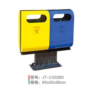 不銹鋼/鋼板噴塑垃圾桶系列 JT-C33380