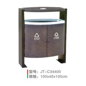 不銹鋼/鋼板噴塑垃圾桶系列 JT-C34400