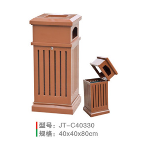 不銹鋼/鋼板噴塑垃圾桶系列 JT-C40330