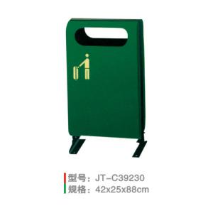 不銹鋼/鋼板噴塑垃圾桶系列 JT-C39230