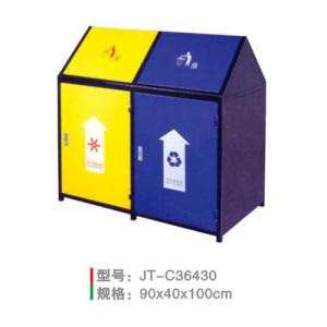 不銹鋼/鋼板噴塑垃圾桶系列 JT-C36430