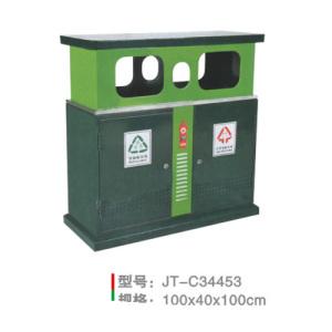 不銹鋼/鋼板噴塑垃圾桶系列 JT-C34453