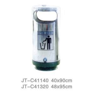 不銹鋼/鋼板噴塑垃圾桶系列 JT-C41140