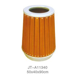 鋼木垃圾桶系列 JT-A11340