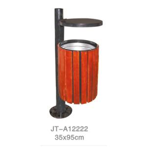 鋼木垃圾桶系列 JT-A12222