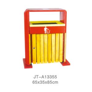 鋼木垃圾桶系列 JT-A13355