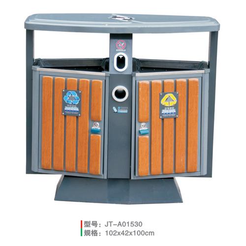 鋼木垃圾桶系列 JT-A01530