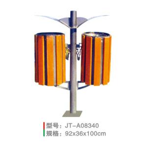 鋼木垃圾桶系列 JT-A08340