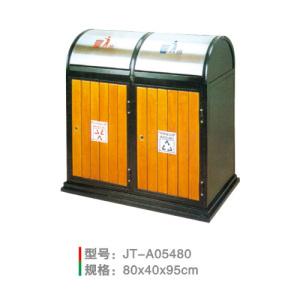 鋼木垃圾桶系列 JT-A05480
