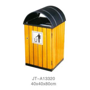 鋼木垃圾桶系列 JT-A13320