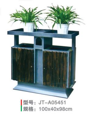 鋼木垃圾桶系列 JT-A05451