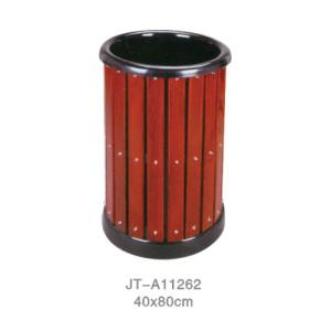 鋼木垃圾桶系列 JT-A11262