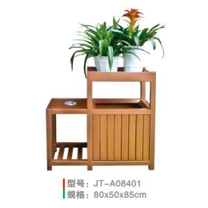 鋼木垃圾桶系列 JT-A08401